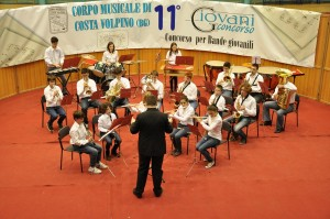 La Banda Giovanile al Concorso di Costa Volpino 2013